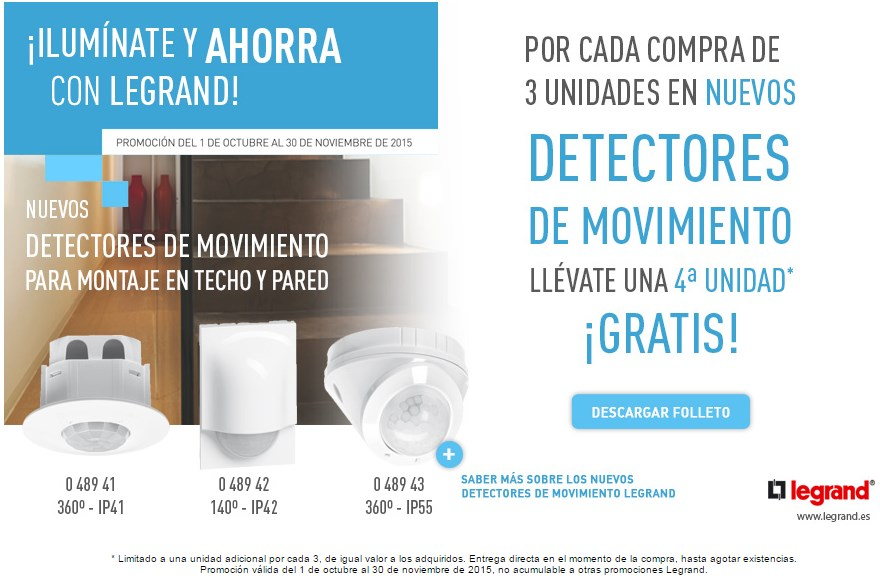 Newsletter ¡ILUMINATE Y AHORRA CON LEGRAND!