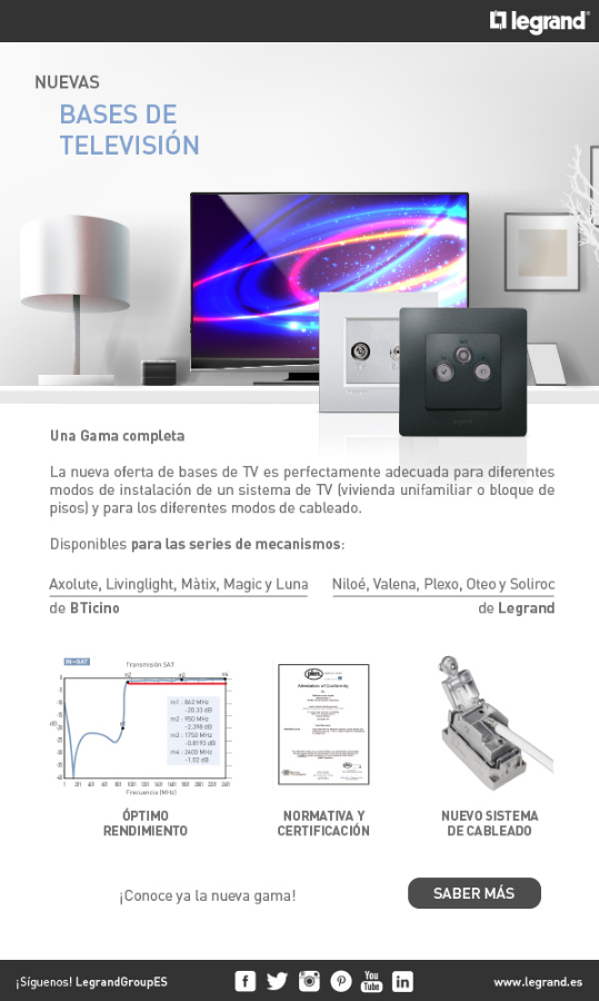 Newsletter Bases de TV