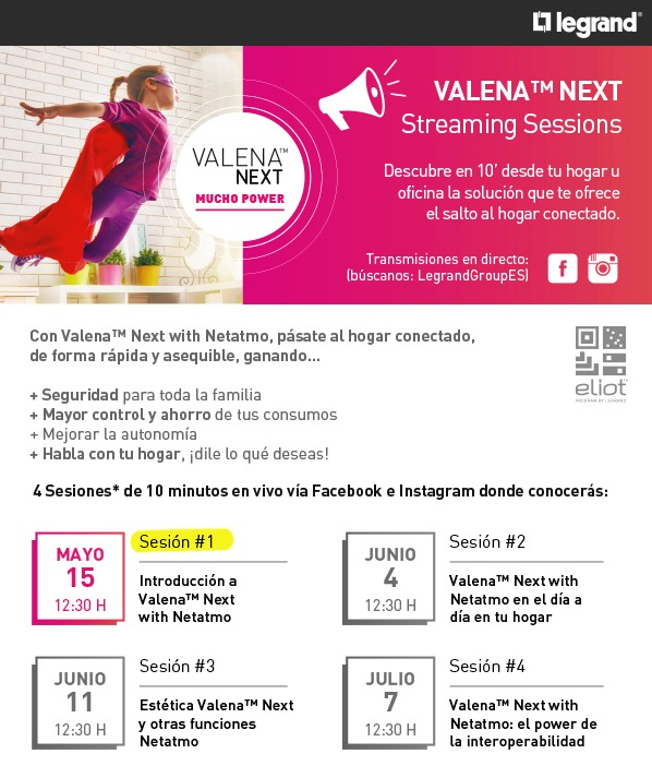 Newsletter Valena™ Next Streaming sessions